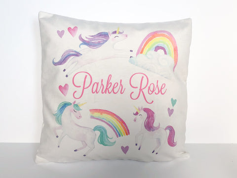 Children's Personalized Pillow