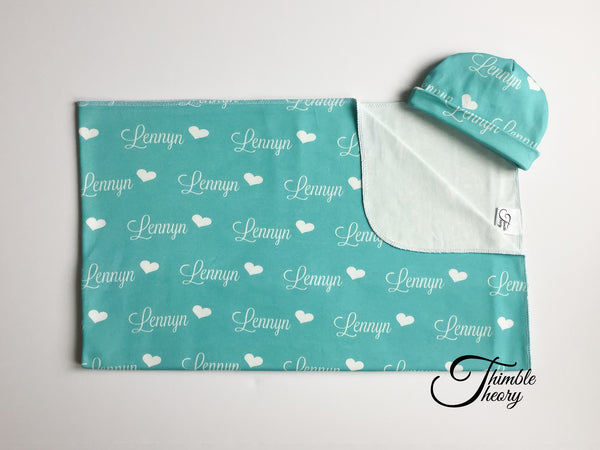 """Hearts""-  Newborn Set"