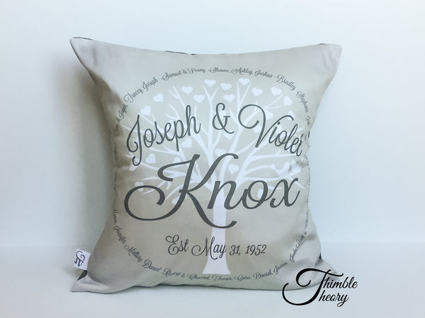 Family Tree Pillow