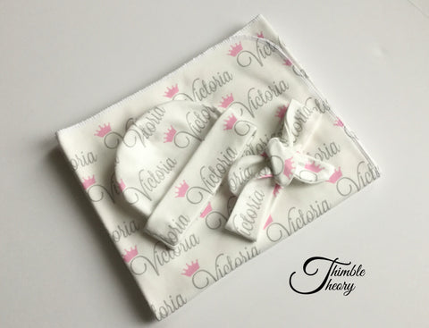 """Crown""- Welcome Home Baby Newborn Set"