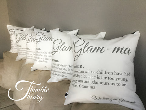 Glamma Pillow