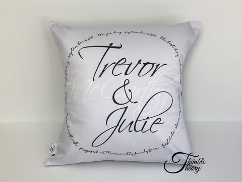Best Memories Pillow