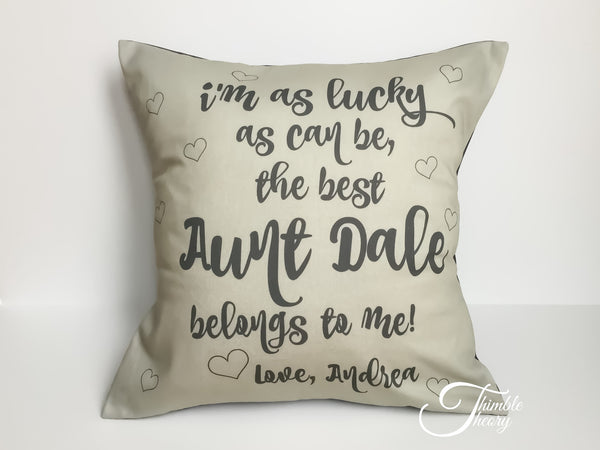 The Best Belongs to me Pillow