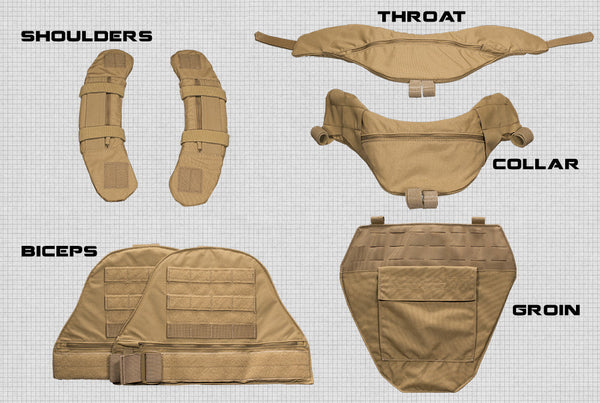 FirstSpear MASS Modular Armor Supplement System - Throat Guard(call store for price list)