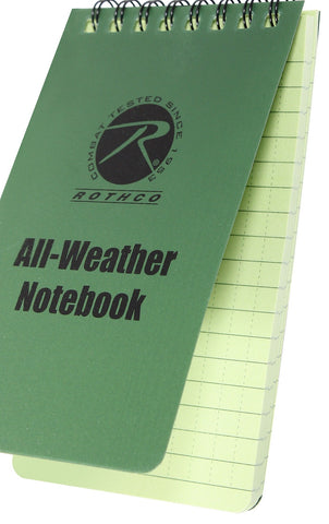 "All-Weather Notebook 3""x5"""