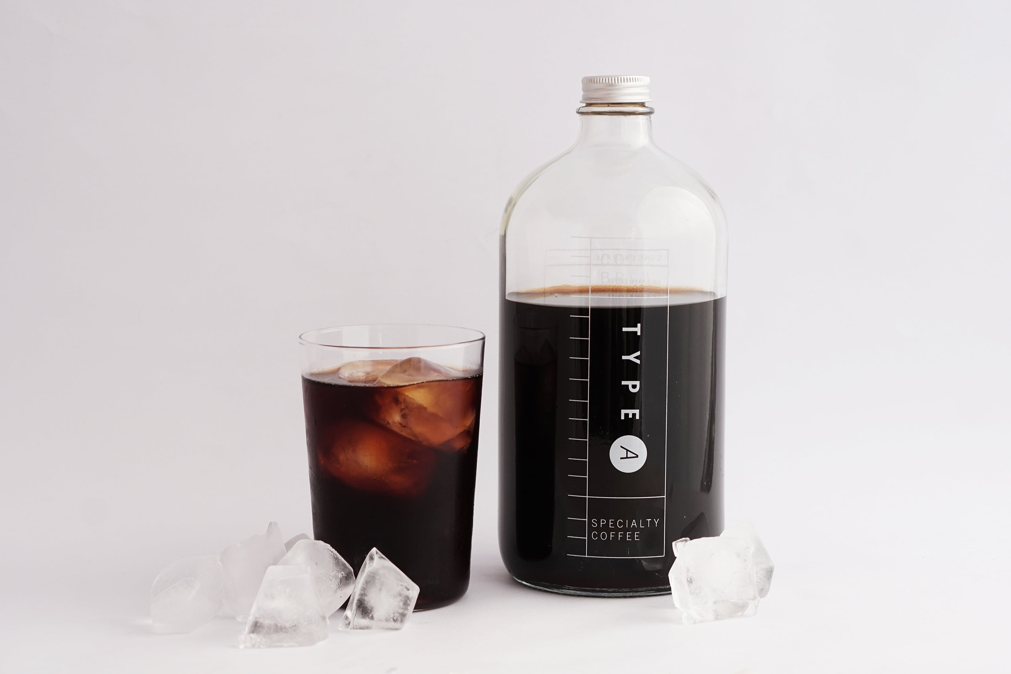 Type A Cold Brew Glass Bottle