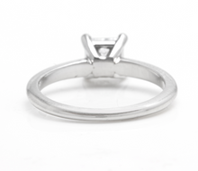 Load image into Gallery viewer, GIA Certified 0.70 Carats Diamond 950 Platinum Engagement Ring