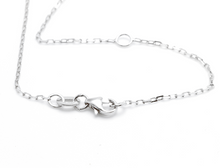 Load image into Gallery viewer, 0.40Ct Stunning 14K Solid White Gold Diamond Necklace