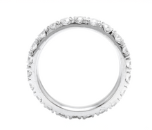 Load image into Gallery viewer, 1.80 Carats Natural Diamond 950 Platinum Eternity Ring