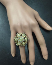 Load image into Gallery viewer, Splendid 5.00 Carats Natural VS Diamond 14K Solid Two-Tone Gold Ring