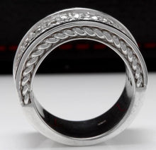 Load image into Gallery viewer, Splendid 4.00 Carats Natural VVS Diamond 14K Solid White Gold Ring