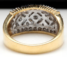 Load image into Gallery viewer, Splendid 1.25 Carats Natural Diamond 14K Solid Yellow Gold Ring