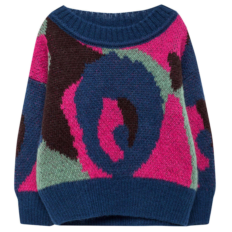 Baby Girls Multicolor Sweater