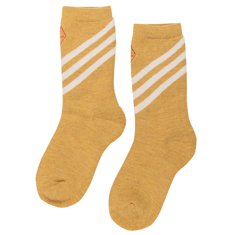 Yellow Wool Socks