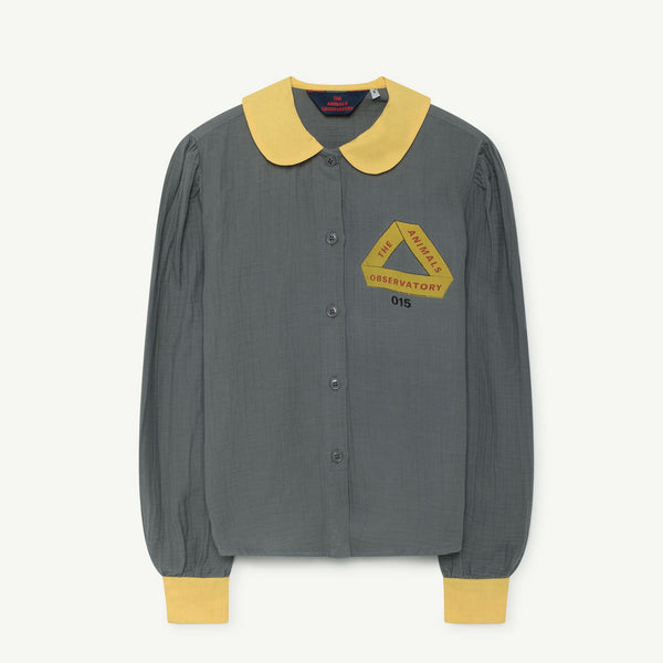 Girls & Boys Triangle Cotton Shirt