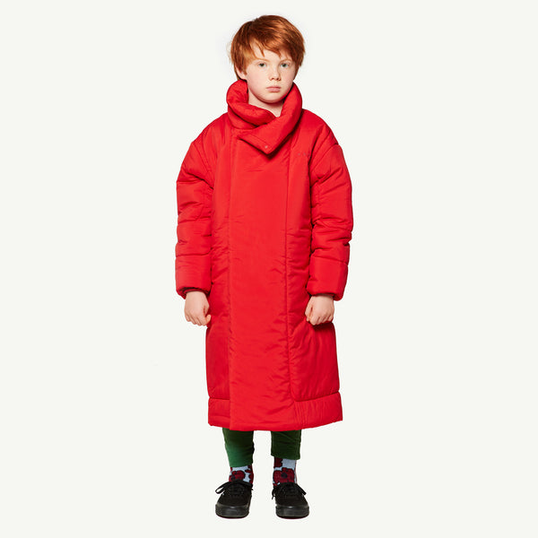 Girls Red Apple Coat