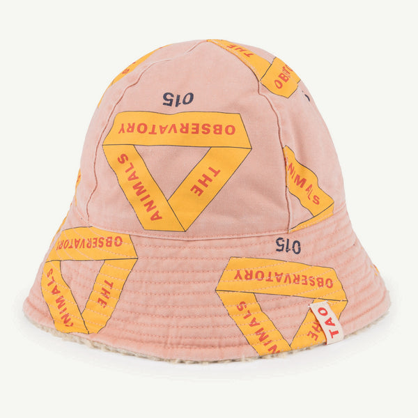 Girls & Boys Rose Triangles Cotton Hat