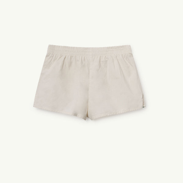 Girls & Boys White Rabbit Cotton Shorts