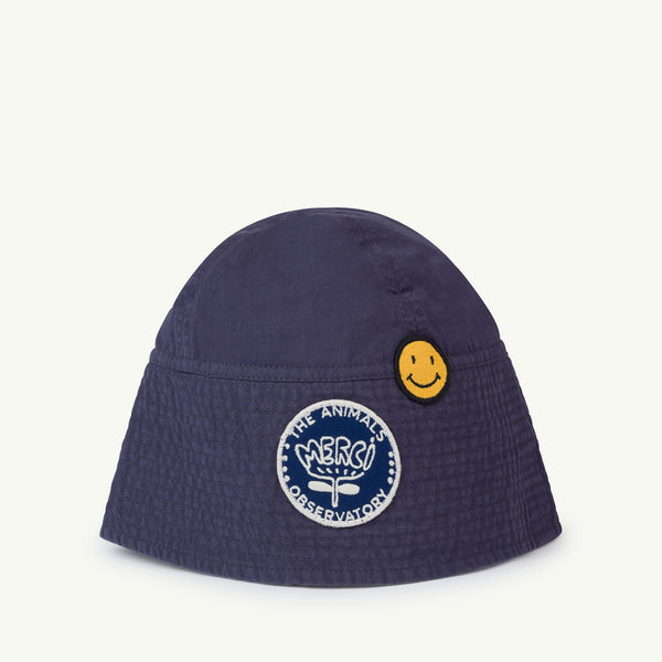 Boys & Girls Blue Cotton Hat