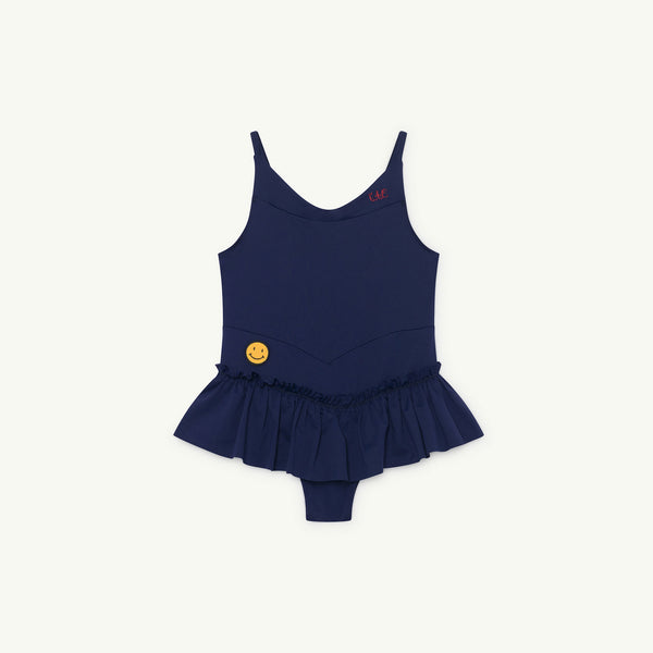 Girls Navy Blue Swimsuit