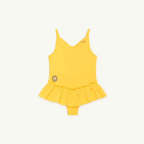 Girls Yellow Swimsuit