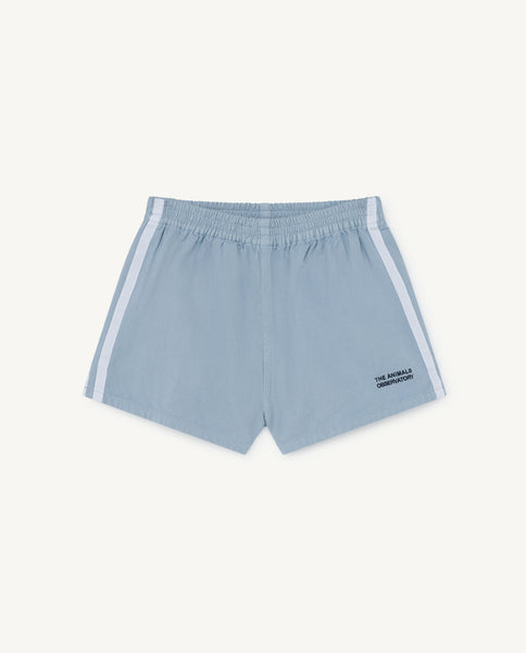Boys & Girls Blue Cotton Shorts