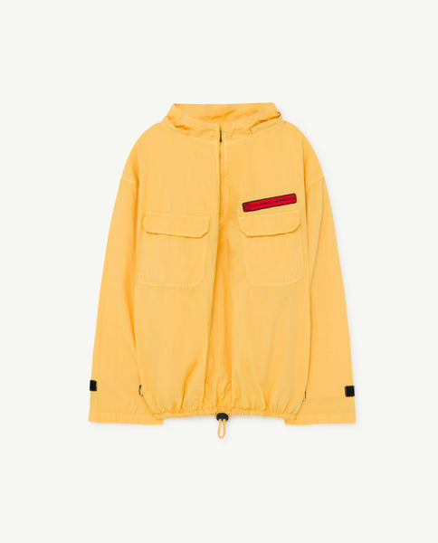 Boys & Girls Yellow Hooded Jacket