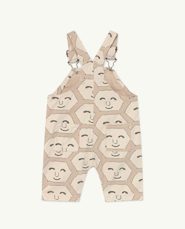 Baby Boys  & Girls Pink Face Cotton Jumpsuit