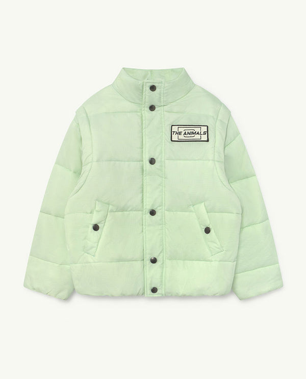 Boys & Girls Mint Logo Jacket