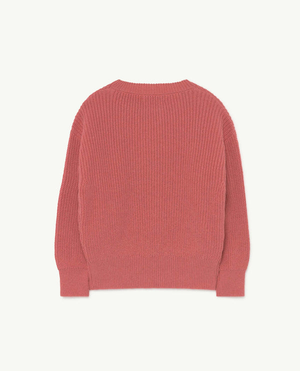 Boys & Girls Pink Logo Sweater