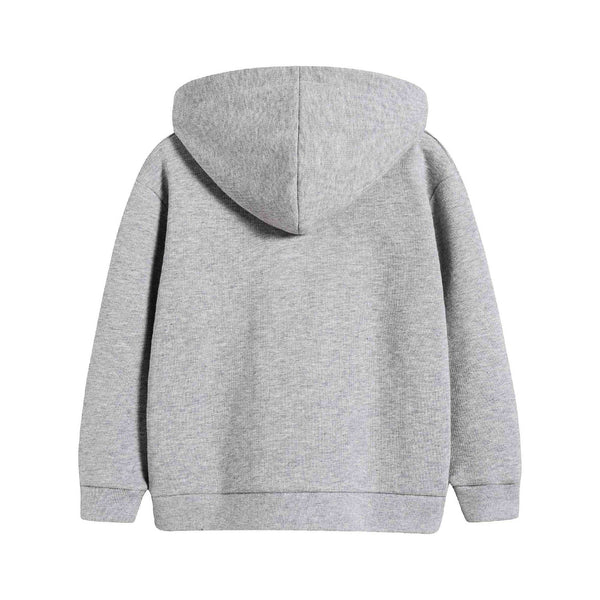 Baby Boys & Girls Light Grey GG Cotton Sweatshirt