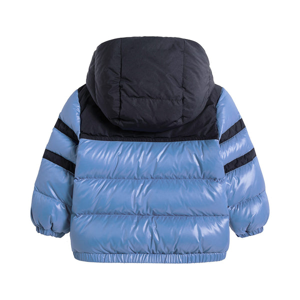 Baby Boys Pastel Blue Padded Down ELM Jacket