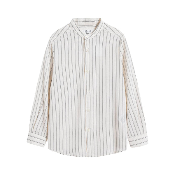 Boys & Girls Beige Stripe Shirt