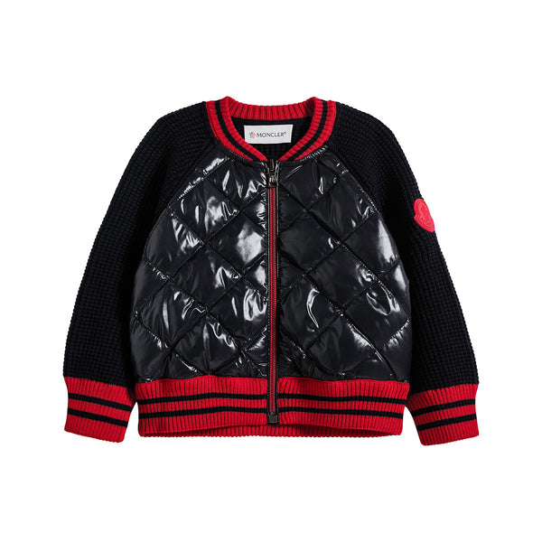 Baby Boys Black Padded Jacket