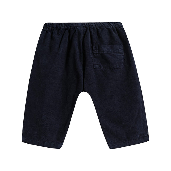 Baby Boys & Girls Blue Galaxie Cotton Pants