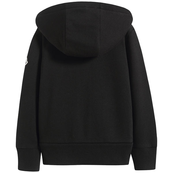 Boys Black Cotton Sweatshirt