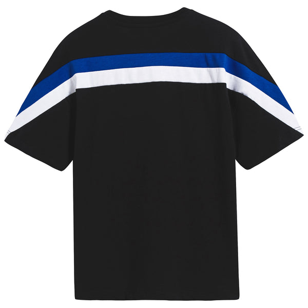 Boys Black Cotton T-shirt