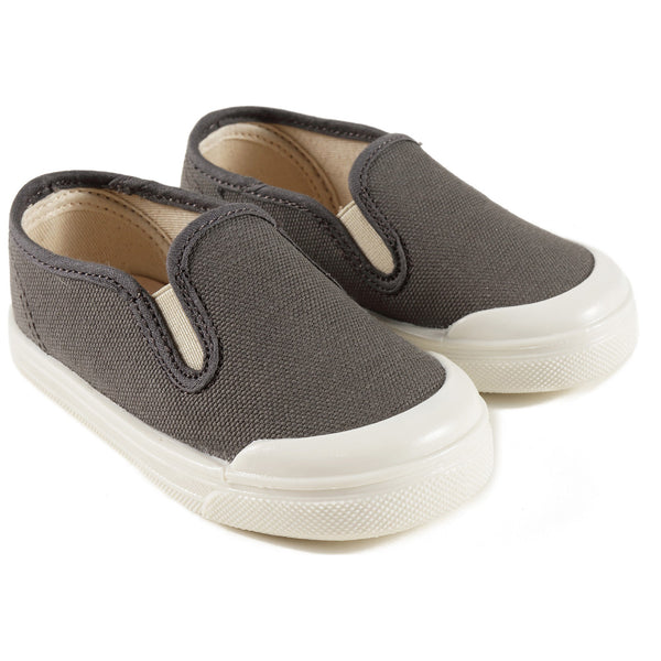 Boys & Girls Dark Grey Shoes