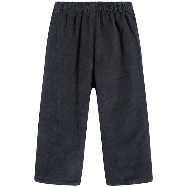 Baby Boys & Girls Fusain Cotton Trousers