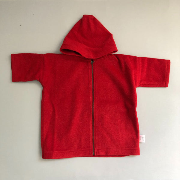 Baby Girls Red Zip Coat