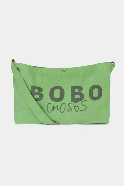 Boys Green Logo Toto Bag