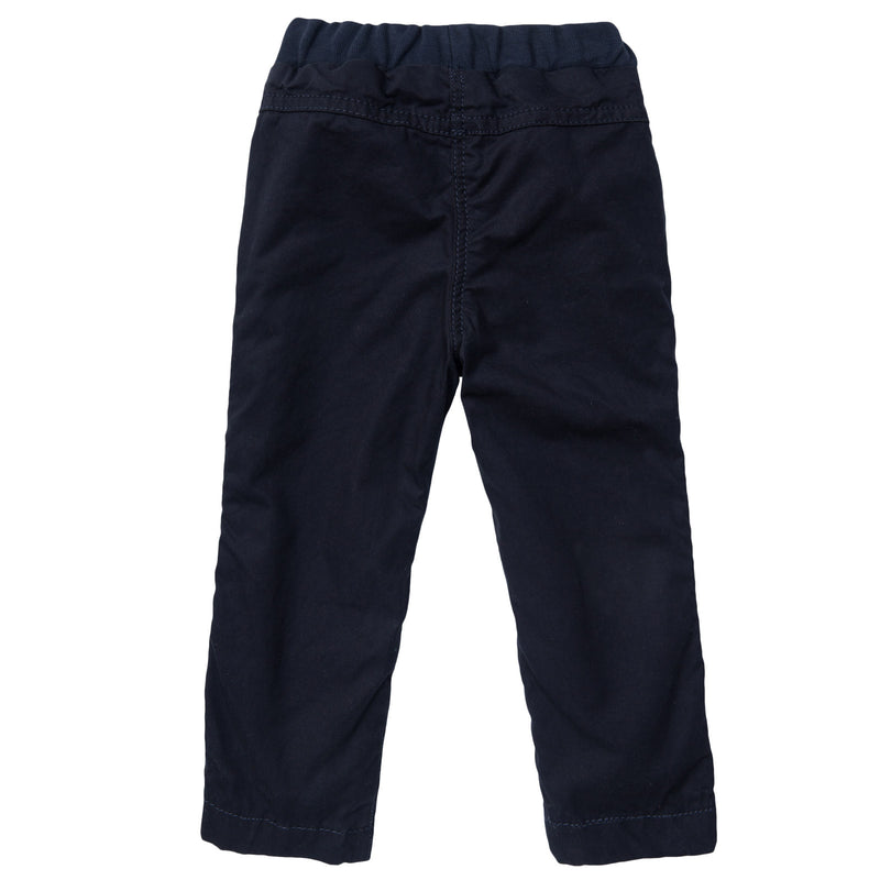 Baby Boys Navy Blue Cargo Trousers - CÉMAROSE | Children's Fashion Store - 2