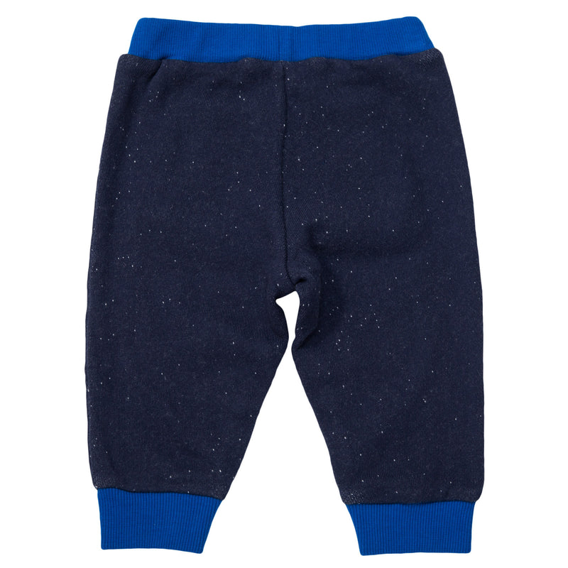 Baby Boys Navy Blue Elastic waisted Trousers - CÉMAROSE | Children's Fashion Store - 2