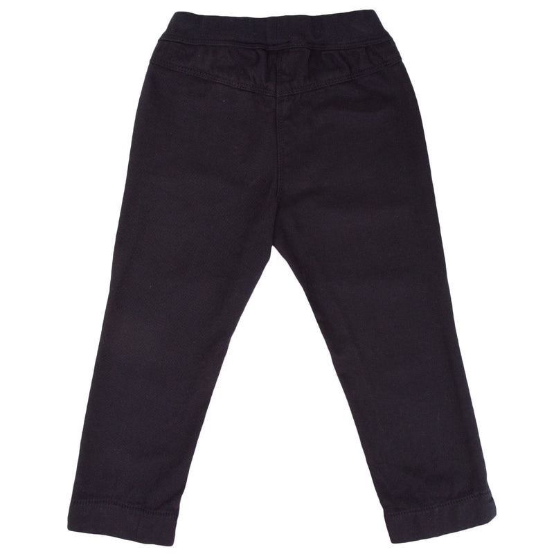 Baby Girls Navy Blue Elastic Waistband Trousers 1444 - CÉMAROSE | Children's Fashion Store - 2