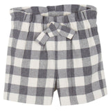 Baby Girls Grey Check Bermuda Shorts - CÉMAROSE | Children's Fashion Store - 1