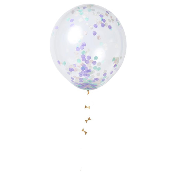 Pastel Confetti Balloon Set