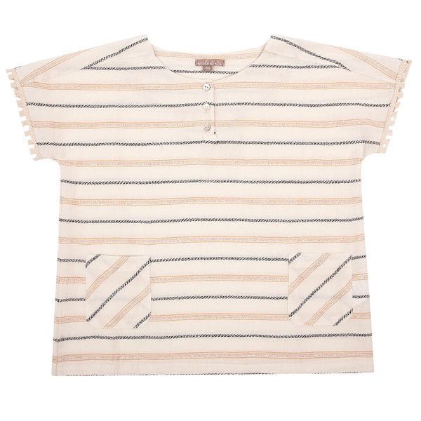 Girls Stripes Cotton Top