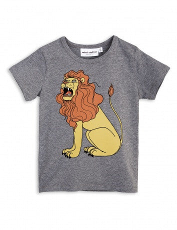 Boys Grey Lion T-shirt