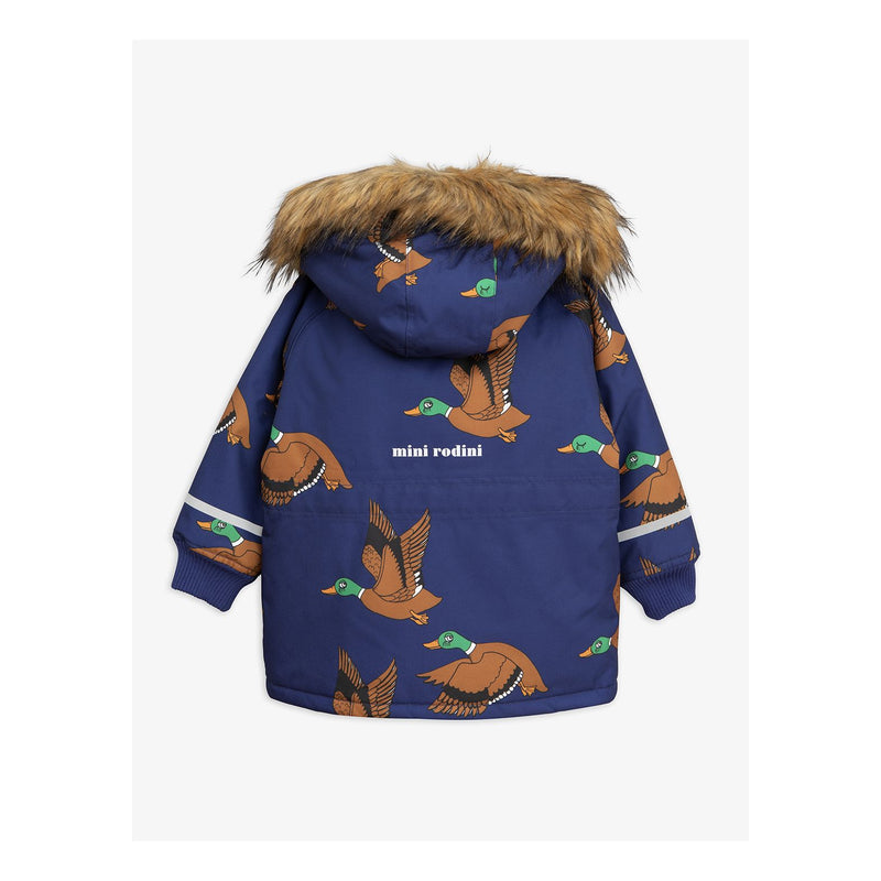Girls & Boys Navy K2 Ducks Parka Jacket