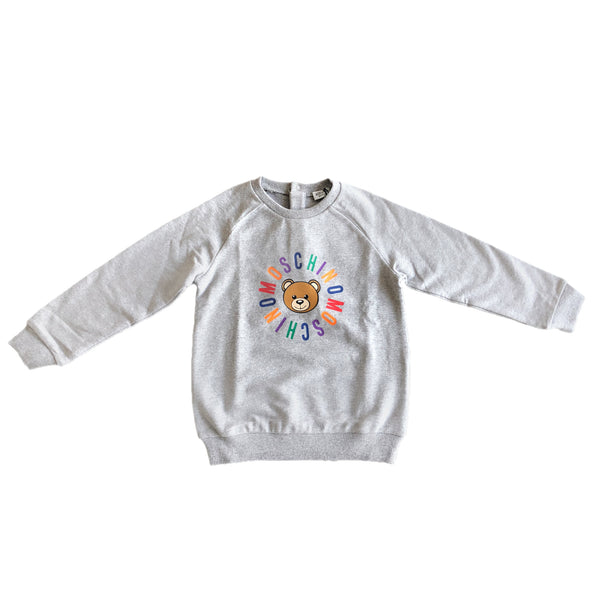 Baby Melange Grey Cotton Sweater